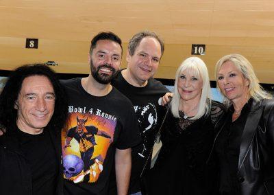 David Rock Feinstein, Jason Belmonte, Eddie Trunk, Wendy Dio, Uta Kromrey