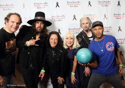 Eddie Trunk, Damon Fox, David Rock Feinstein, Wendy Dio, John 5, Tom Morello