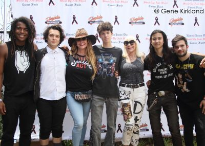 RIDE-FOR-RONNIE-2018-Classless-Act-with-manager-Perla-Hudson-and-Wendy-Dio-by-Gene-Kirkland